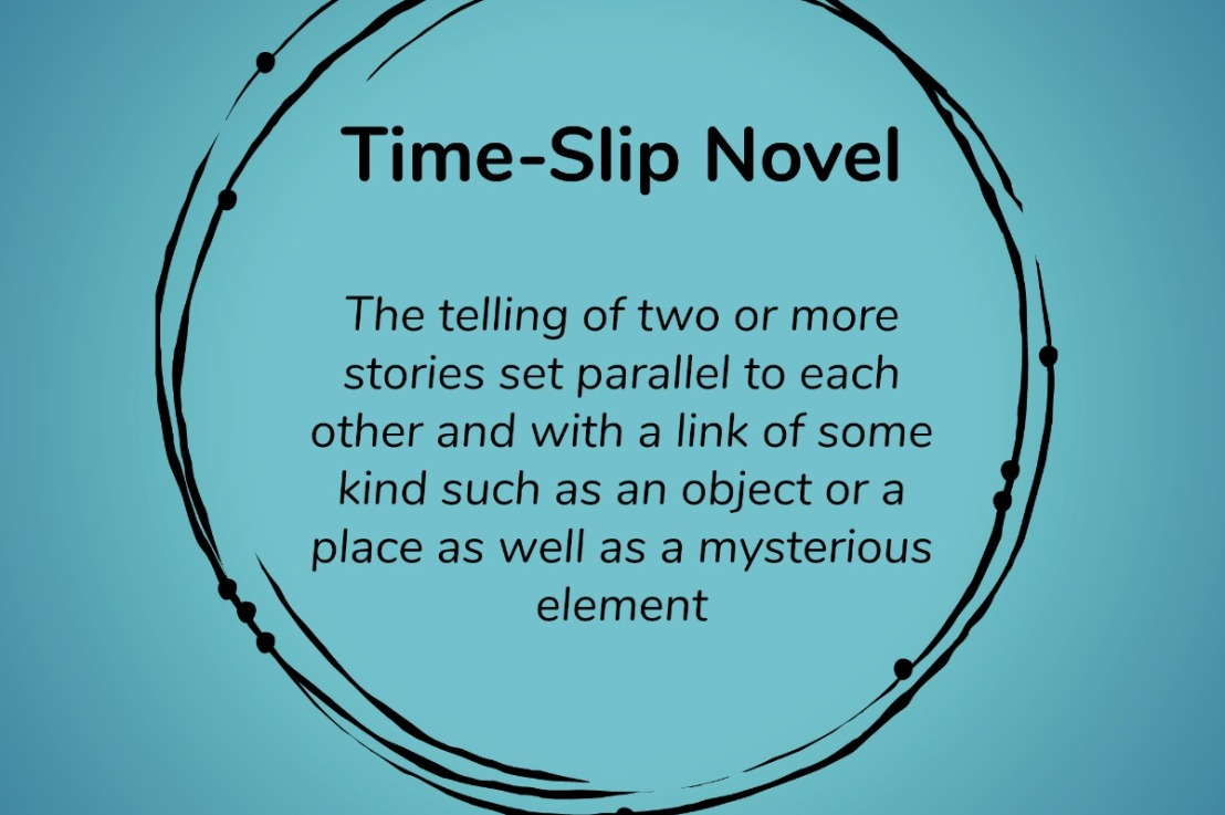 A midnight epiphany — am I supposed to write time-slip novels?