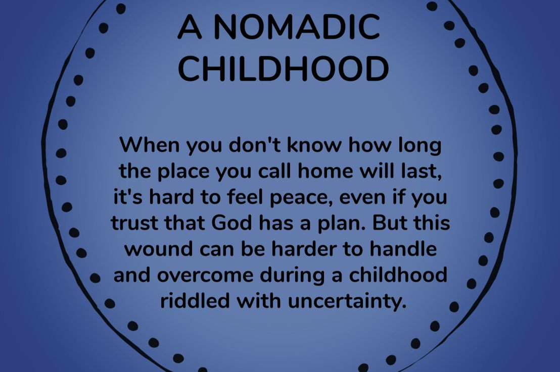 A Nomadic Childhood – Wounds to Wins Series